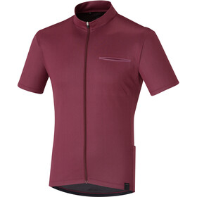 Shimano Transit Pavement - Maillot manches courtes Homme - rouge